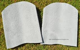 bible fun for kids make your own 10 commandments tablets