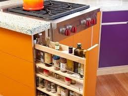 kitchen backsplash ideas cabinet spice storage picture note small