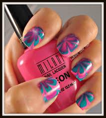 southern sister polish nail art wednesday water marble