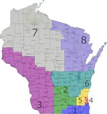 Wisconsin State Map by How Gerrymandering Cost Democrats The House In 2012 An