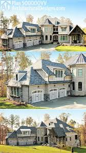 Brick House Plans Plan 500000vv Stunning European House Plan Loaded With Special