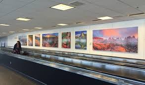 Utah travel art images Airport art installation utah office of tourism industry website jpg