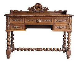 Antique Style Writing Desk French Provincial Furniture Custom Time Worn By Europeanflairhome