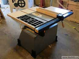 replacement table saw fence rebuilding a table saw homemade shop machines and equipment i