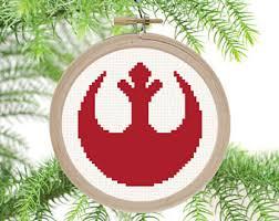 trooper ornament pdf cross stitch pattern
