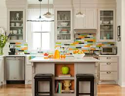 glass kitchen backsplash tiles should you install a glass tile backsplash which type