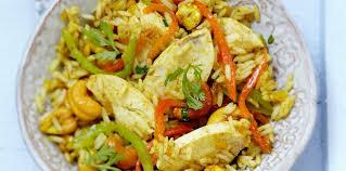 cuisine indienne facile salade de riz au poulet à l indienne facile et pas cher recette