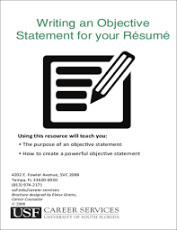 Job Objective Statement For Resume by How To Write A Attention Grabbing Career Objective Do U0027s U0026 Don U0027ts