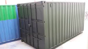 15ft x 8ft green used shipping container u2014 www