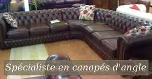 canapé d angle style anglais chesterfield anglais