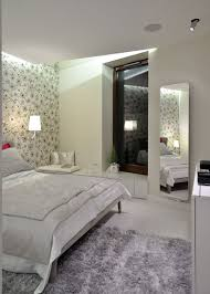 Classy Bedroom Wallpaper by Apartment Classy Details Bedroom Displayed By Floral Patterned