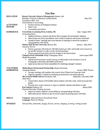 Sample Business Administration Resume by Appealing Formula For Wonderful Business Administration Resume