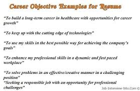Job Resume Objective Examples by Good Resume Objectives Examples Free Contract Specialist Resume