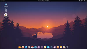 Cool Looking - backslash linux a cool looking distro in the community