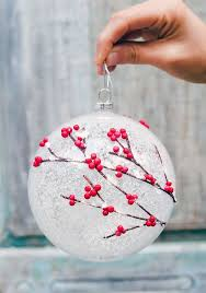 White Christmas Ornaments Diy by Best 25 Diy Christmas Ornaments Ideas On Pinterest Diy
