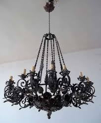 Black Chandeliers For Sale Wrought Iron Chandeliers Wholesale Black Vintage Chandelier Hung