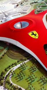 ferrari horse wallpaper ferrari logo over the green park hd wallpaper