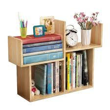Desk Organizer Shelves Desktop Small Mini Bookshelf Simple Modern Student Bookcase