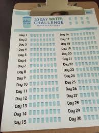 Water Challenge 30 Day Water Challenge Miss Mandies