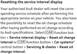 audi service interval reset reset archive how to reset the 2017 audi a5
