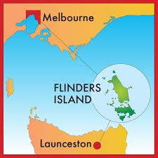 island on map map of flinders island flinders island map flinders island
