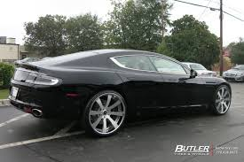 aston martin db9 custom aston martin rapide with 22in savini sv28c wheels exclusively from