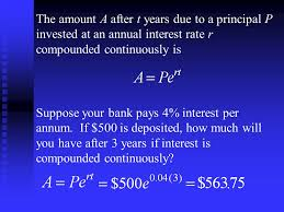 sullivan precalculus section 4 7 compound interest ppt download