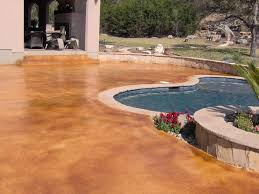 acid wash pool deck concrete acid stain photo gallery acid stain