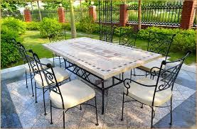 Mosaic Patio Tables Mosaic Patio Table Impressive Design Rite Vision
