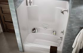 One Piece Bathtub Wall Surround Shower And Tub Stalls As One Piece Useful Reviews Of Shower