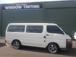 nissan caravan side view car tinting victor harbor window tinting