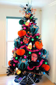 how to decorate a halloween tree halloween trees halloween
