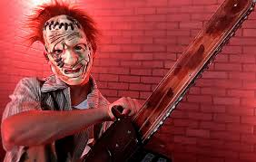 animated chainsaw halloween prop youtube