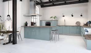 cuisine bleu clair peinture salon gris clair get green design de maison