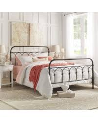deals on mercer casted knot metal bed by inspire q classic