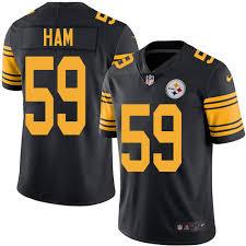 Pittsburgh Jack Authentic Jack Ham Jersey Pittsburgh Steelers Jack Ham Men U0027s