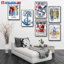 popular pop art landscape buy cheap pop art landscape lots from afflatus canvas painting nordic pop art surfing landscape wall art posters and prints wall pictures for