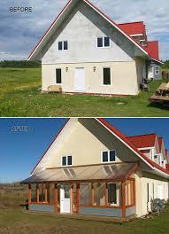 large 3 season porch winterized 3 season sunroom with
