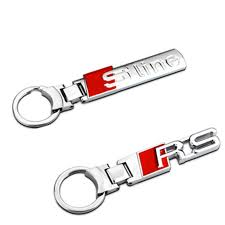audi a3 keyring shop 1pcs fashion s line alloy metal stainlees steel car
