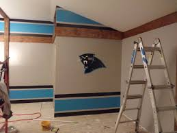 carolina panther game room unfolds game room decor pinterest
