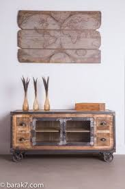 wooden meubles 36 best meuble tv images on furniture industrial chic