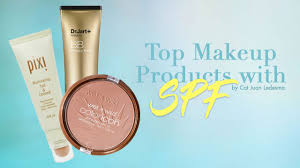 top makeup products with spf calyxta