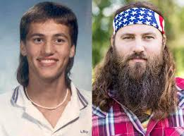 Uncle Si Memes - the cast of duck dynasty looked very different before fame