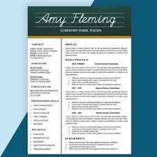 Teaching Resume Template 25 Best Resumes Ideas On Teaching Resume