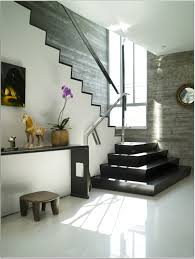 Staircase Design Inside Home by Zen House Stairs Design