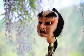 Awa by Shigeo Nishida U201cspirited Face Of Wooden Puppet U201d Awa Puppet