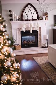a little holiday magic in the master bedroom