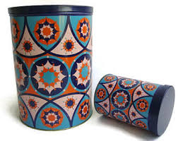 large kitchen canisters vintage kitchen canisters etsy