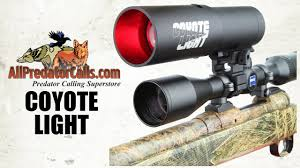 Coyote Light Night Hunting Light For Hogs And Predators Youtube