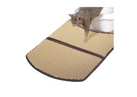 get a litter mat and say goodbye to cat litter peppering your